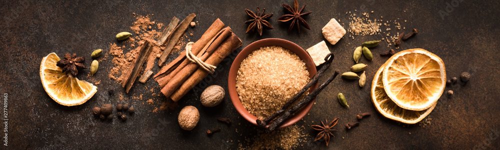Fototapety, obrazy: Mulled Wine Spices