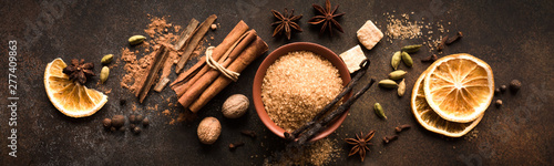 Obraz Mulled Wine Spices - fototapety do salonu