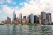 View of Manhattan from Ferry