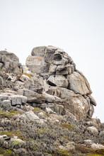 Roca Con Forma De Indio