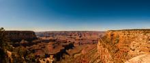 Panoramic View Of The South Rim Grand Canyon National Park, Arizona, USA