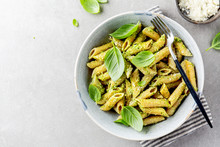 Tasty Appetizing Pasta With Pe...