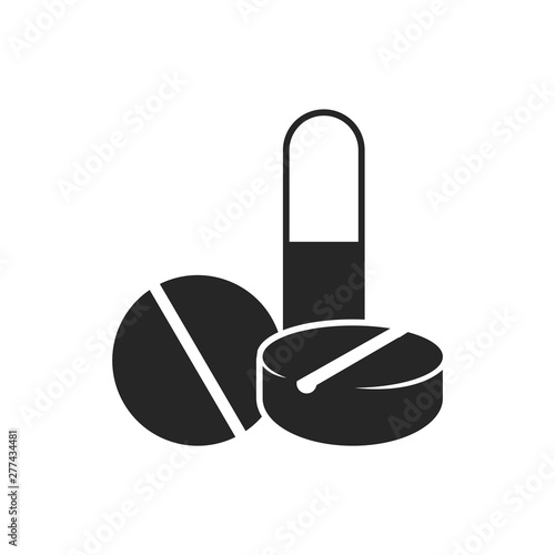 pills icon in black and white vitamin medicine drugs vector illustration buy this stock vector and explore similar vectors at adobe stock adobe stock pills icon in black and white vitamin