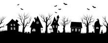 Halloween Houses. Spooky Villa...