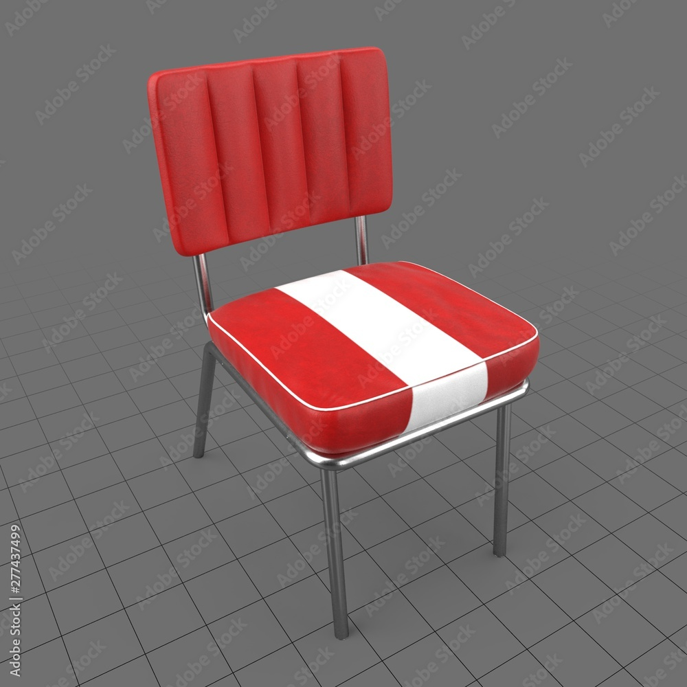 Fototapety, obrazy: Retro dining chair