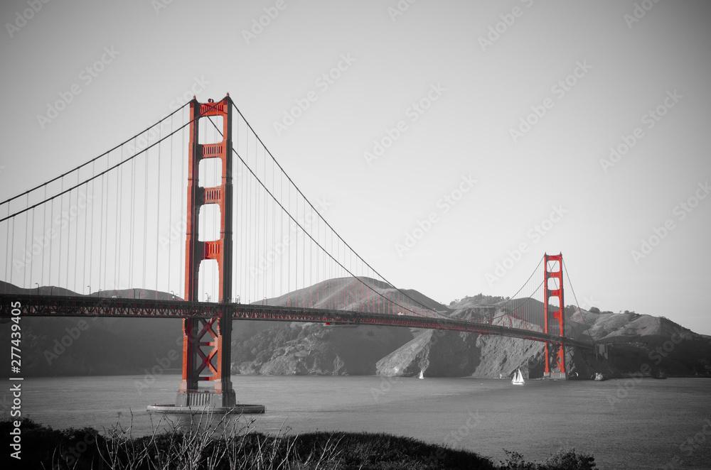 Fototapety, obrazy: golden gate bridge in san francisco