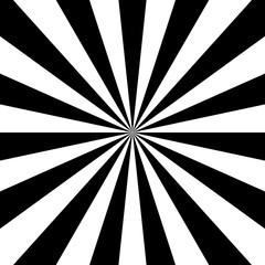 Black and white radial pers...