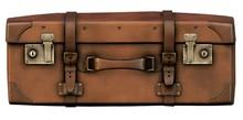 Old Vintage Suitcase 2D Game Art