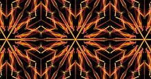 Multicolored Kaleidoscope Background