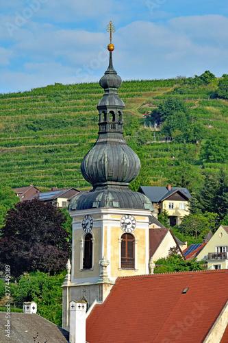 Church steeple, Krems, Austria