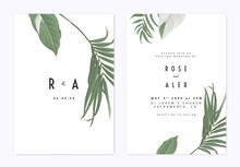Minimalist Botanical Wedding I...