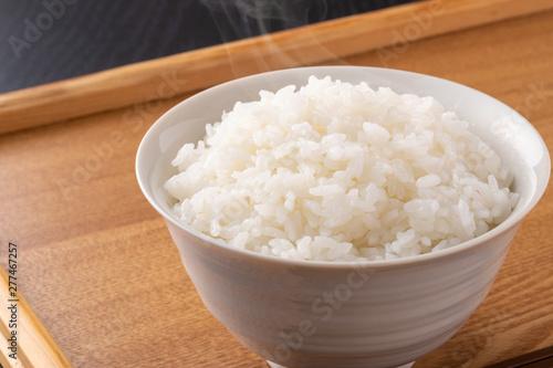 Photo 炊きたてのご飯