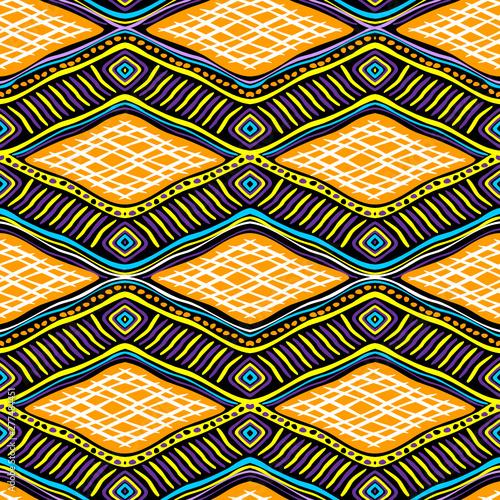 vector image for Hendiwork  ethnic seamless African pattern #277484451