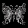Beautiful butterfly. Vector illustration.