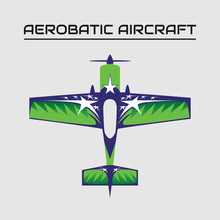 Vector Illustration Of Aerobat...