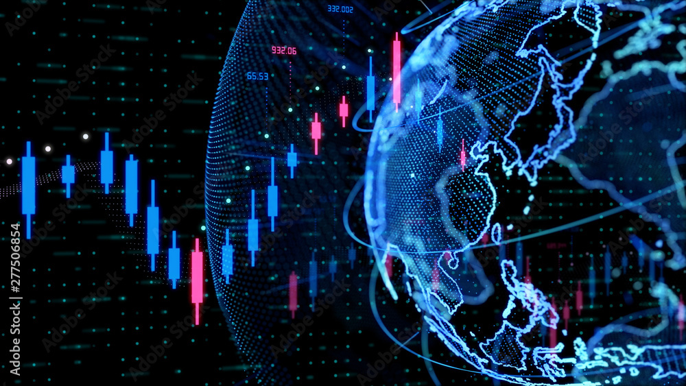 Fototapeta 世界経済