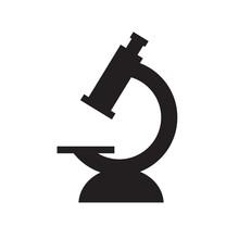 Microscope Icon- Vector Illustration