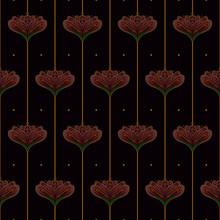 Wallpaper Floral Pattern In St...