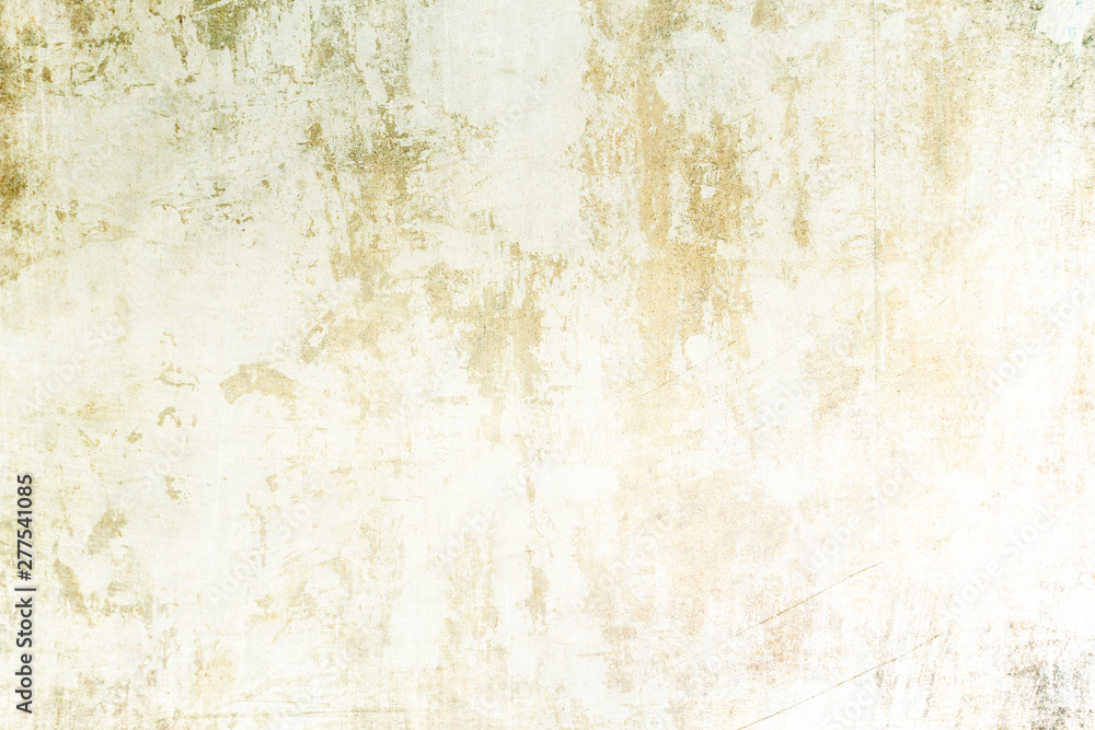 Fototapety, obrazy: Old white grungy wall texture or background