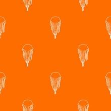 Jellyfish Pattern Vector Orange For Any Web Design Best