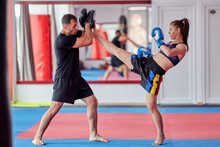 FIghter Girl And Coach