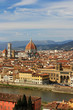 Panorama of the ancient city of Florence, Italy
