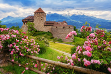 Vaduz Castle, Liechtenstein, Alps Mountains