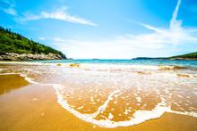 Sand Beach, Acadia National Pa...