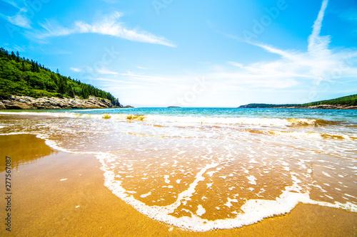 Photo Sand Beach, Acadia National Park, Maine, USA