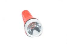 Orange Flashlight, Isolated On...