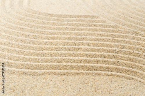 Tuinposter Stenen in het Zand Sand pattern