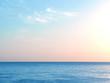 Dawn over the sea. The sun rises over the Mediterranean