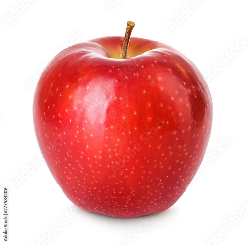 Fototapeta Jabłko  fresh-red-apple-isolated-on-white-with-clipping-path