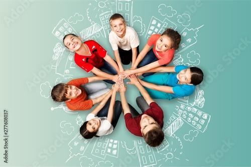 Obraz na plátně  Group of people.