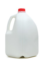 One Gallon Bottle Of Milk With...