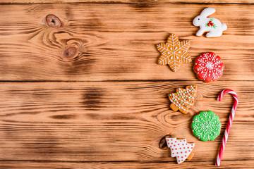 Christmas homemade gingerbr...