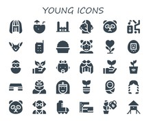 Young Icon Set
