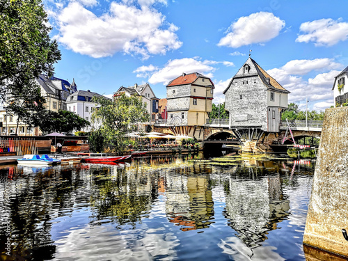 Old bridge in Bad Kreuznach