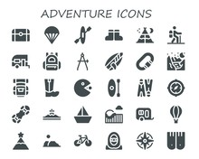 Adventure Icon Set