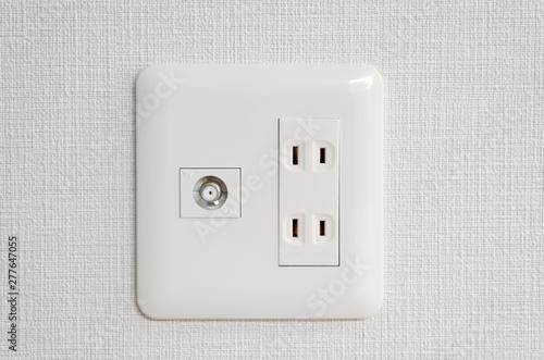 Canvastavla 住宅 設備 ACコンセント テレビアンテナ アウトレット
