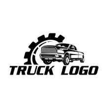 Black Pick Up Logo