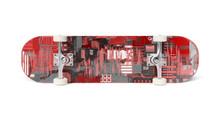 Skateboard Isolated On White M...