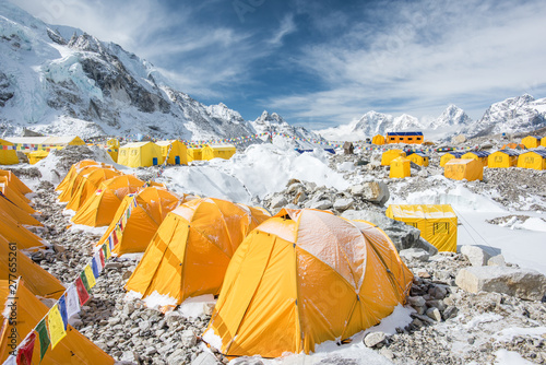 Cuadros en Lienzo Mount Everest Basecamp Region
