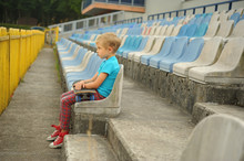 Little Boy Without Parental Ca...