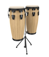 Conga Drum Instrument Isolated