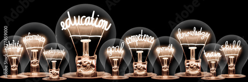 Photographie  Light Bulbs Concept