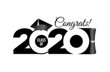Lettering Class Of 2020 For Gr...