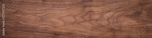 Walnut wood texture. Super long walnut planks texture background.Texture element - 277677235