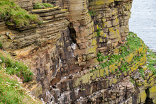 Duncansby Head Is The Most Northeasterly Part Of The British Mainland, Including Even The Famous John O' Groats. It Is Located In Caithness, Highland, In North-eastern Scotland