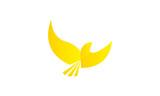 Fototapeta Fototapety na ścianę do pokoju dziecięcego - Animal bird flying graphic logo template
